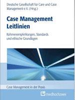 Titelseite Buch Case Management Leitlinien