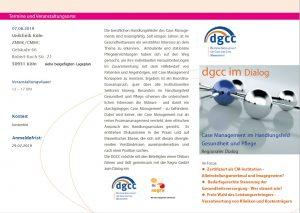 dgcc im Dialog - Flyer 07.08.2019