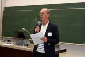 Prof. Dr. Peter Löcherbach, 1. Vorsitzender der DGCC, beim 15. Fachkongress