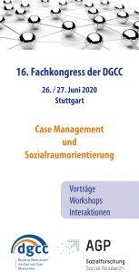 Sozialraumorientierung - Einladung zur DGCC-Jahrestagung 2020