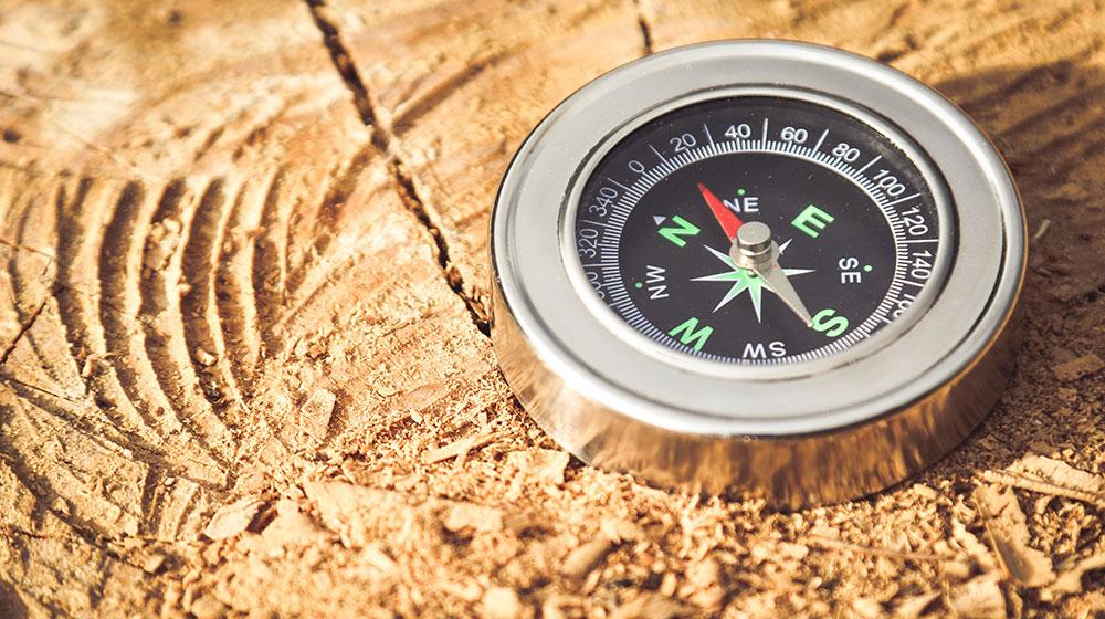 Aufgabenbeschreibung - Orientierungshilfe - Kompass